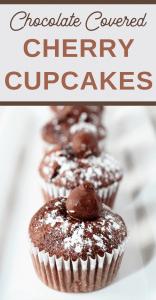 chocolate cherry easy cupcake recipe