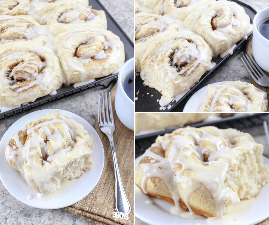 cinnamon rolls boxed cake mix recipes for breakfast