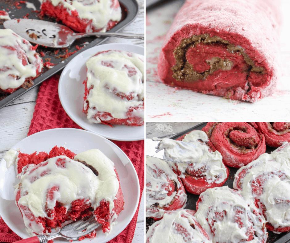 red velvet cinnamon rolls boxed cake mix recipes for breakfast