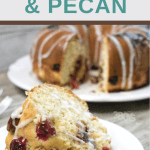 coffee cake recipe with pecans and cranberries