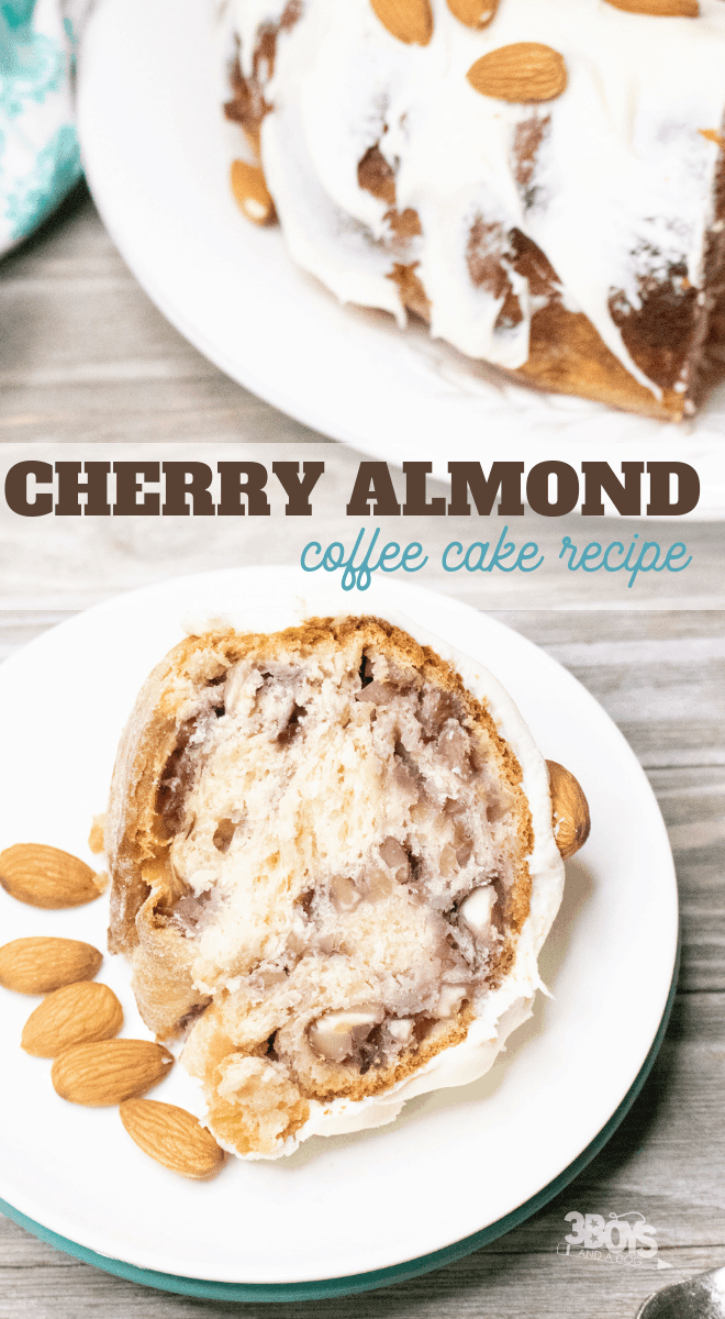 coffee cake recipe cherry and almond