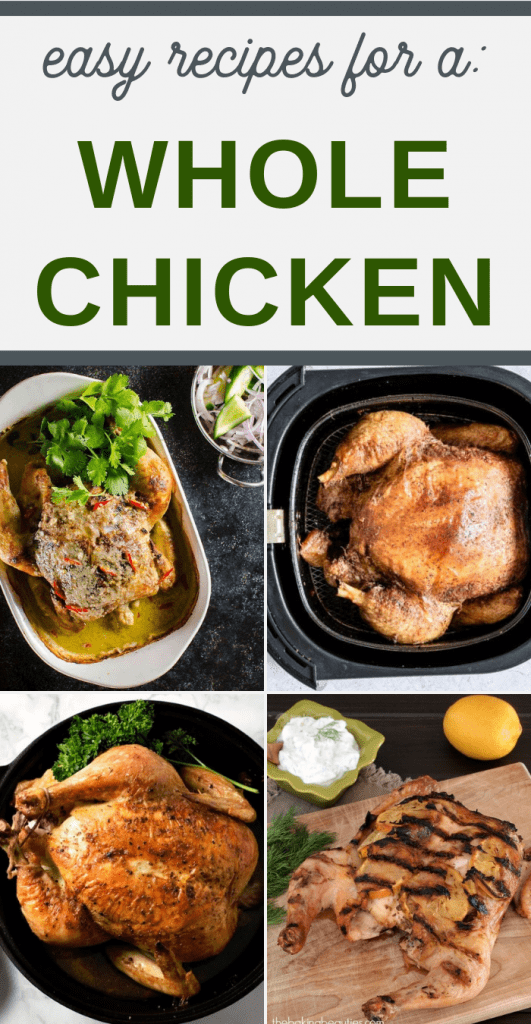 delicious recipes using an entire chicken