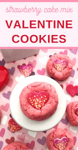 strawberry cake mix hack perfect for valentines day