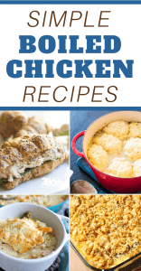 boiled chicken delicious recipes