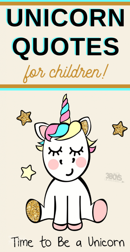 make your dreams happen and more unicorn quotes for kids
