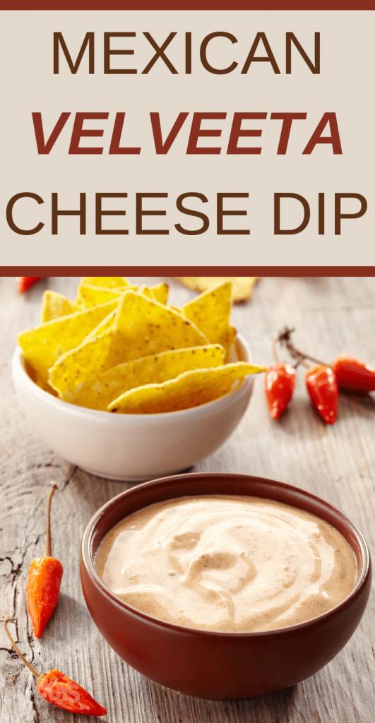 velveeta mexican cheese dip recipe