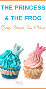 The Princess and the Frog Baby Shower Ideas