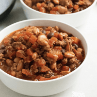 Instant Pot Beef and Bean Chili Recipe