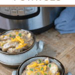 instant pot beef and potatoes cheeseburger potatoes
