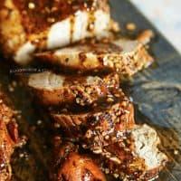 Instant Pot Garlic Pork Tenderloin - Kleinworth & Co