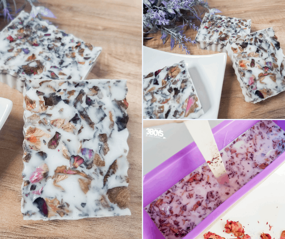 homemade soap recipe coconut island rose