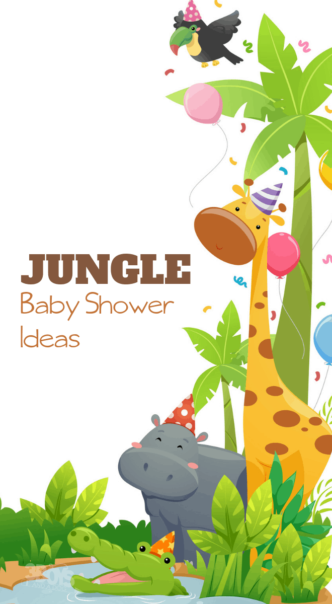 Baby shower ideas and tips for a Jungle Theme