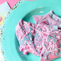 Unicorn Candy Bark Recipe