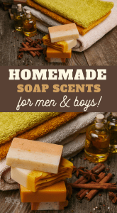 masculine soap scents
