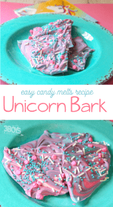 candy melts Unicorn Bark recipe