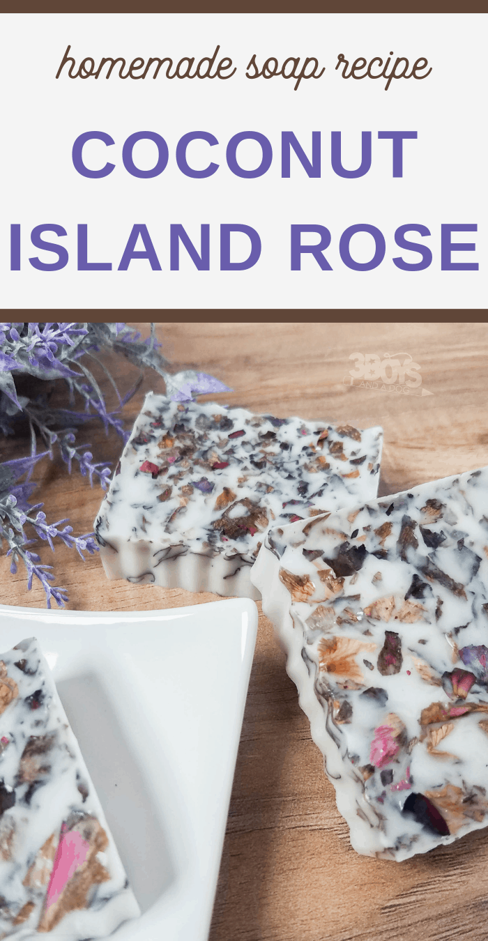 island rose homemade soap recipe