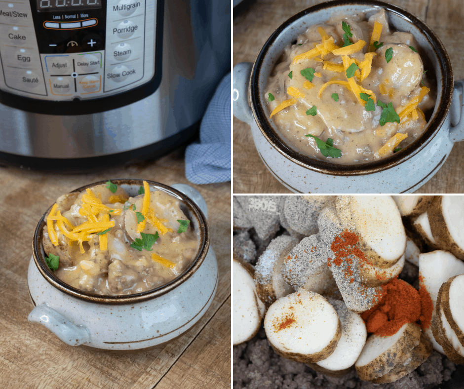 Copycat hamburger helper with potatoes and in the instant pot