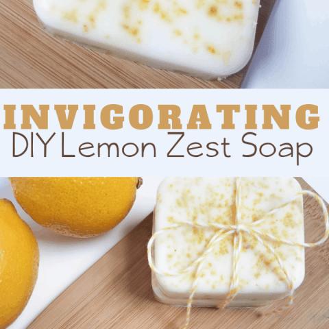 Invigorating Lemon Soap Recipe