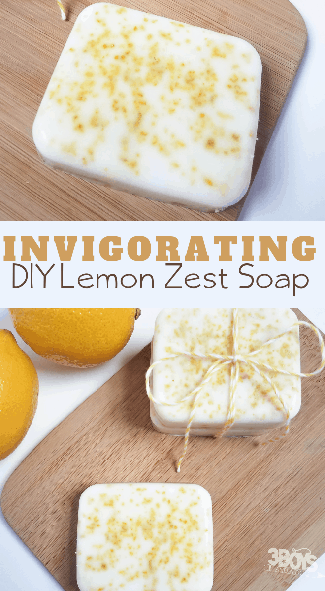 homemade using essential oils invigorating lemon soap