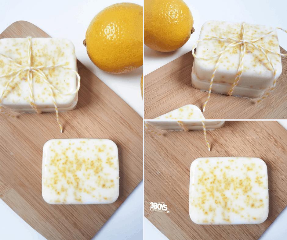 invigorating diy lemon zest soap