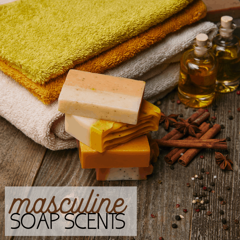 homemade soap scents for men