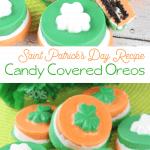 delicious candy oreos for saint patricks day