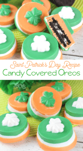 delicious candy oreos for saint patricks day