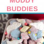 Muddy Buddies Unicorn Snack Mix Recipe