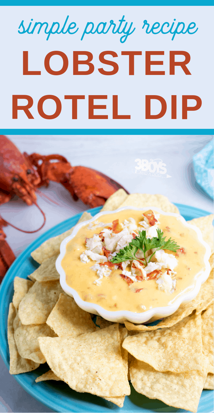 Lobster RoTel Cheese Dip