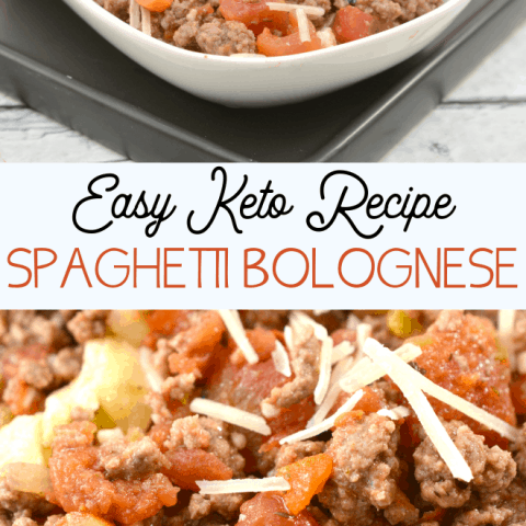 keto spaghetti bolognese