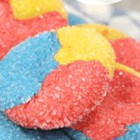 Primary Sparkle Cake Mix Cookies