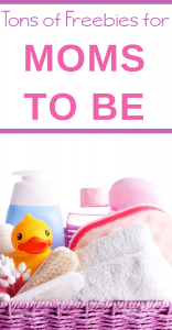 Freebies for expecting moms