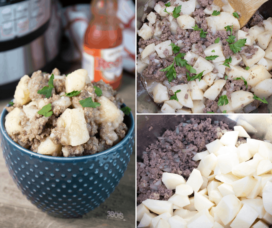 instant pot ground beef hash recipe