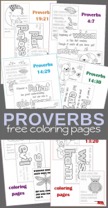 free printable coloring pages Book of Proverbs