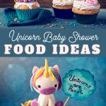 unicorn baby shower food menu ideas