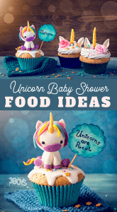 unicorn baby shower food menu ideas