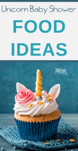 Unicorn Baby Shower food ideas