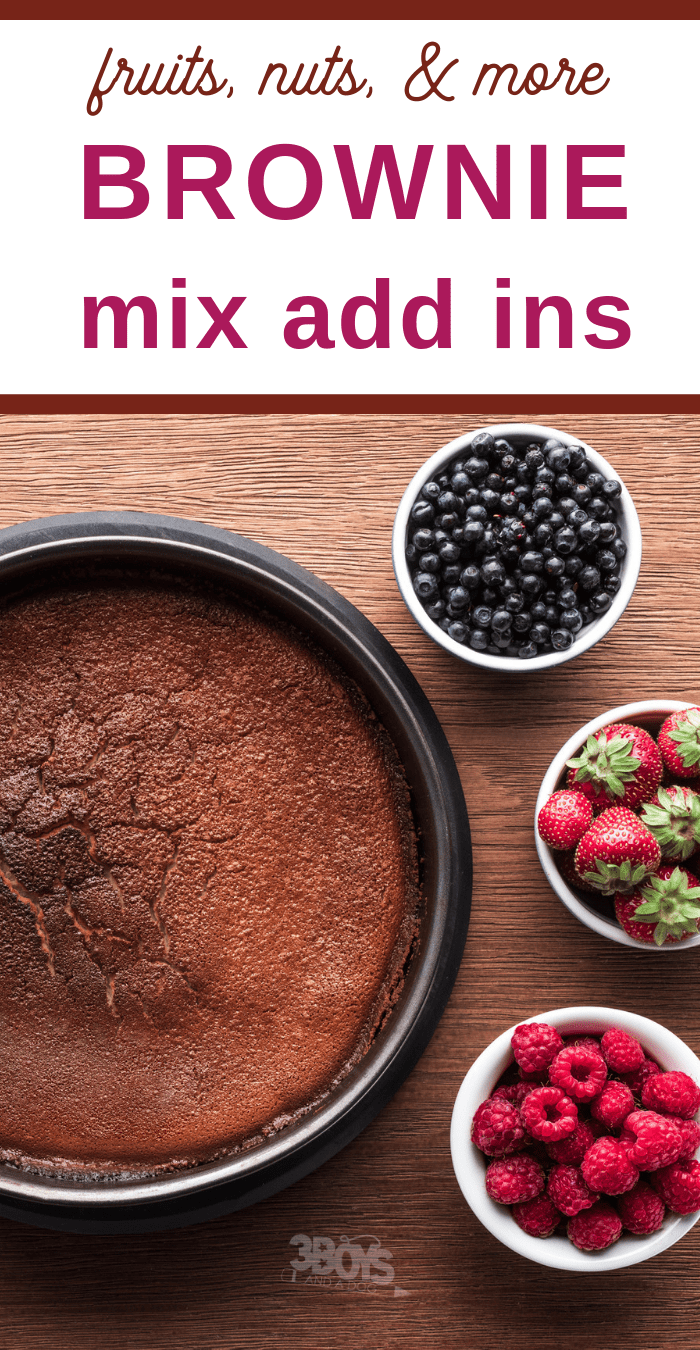 ultimate guide to brownie mix add ins