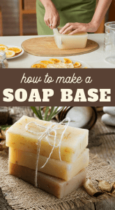 how to make your own soap base