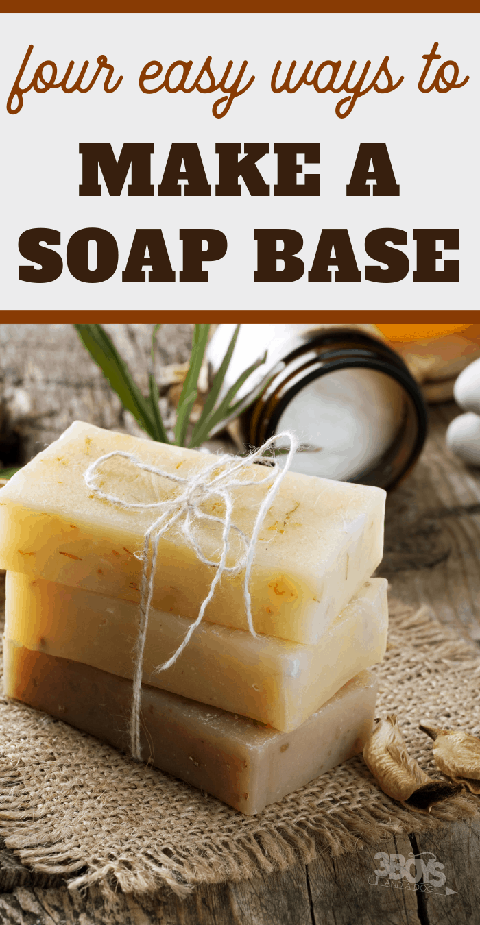 how to make a soap base