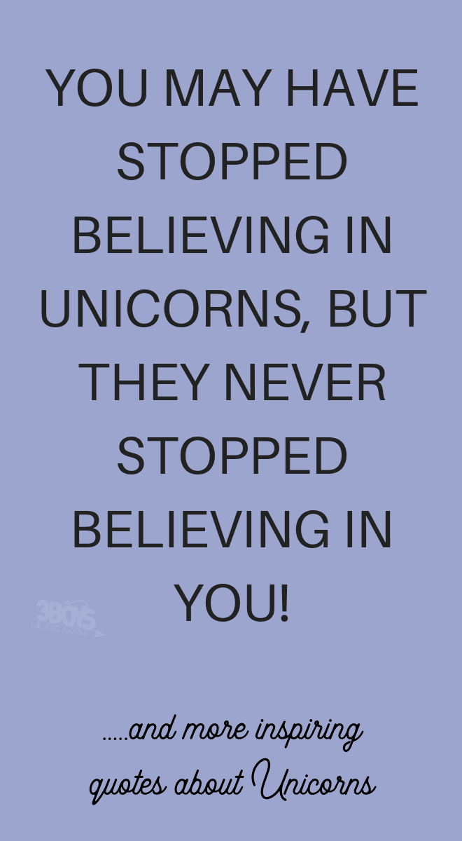 uplifting quotes about unicorns