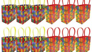 Building Blocks Brick Party Favor Bags