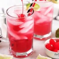 Easy Cherry Limeade Recipe