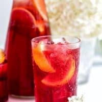 Hibiscus Redcurrant Iced Tea