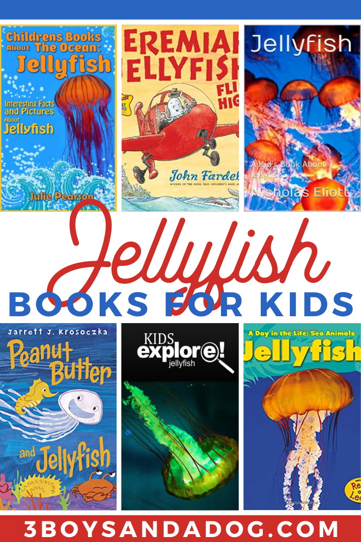 grab some of these jellyfish books for kids
