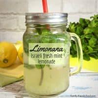 Limonana – Israeli mint lemonade