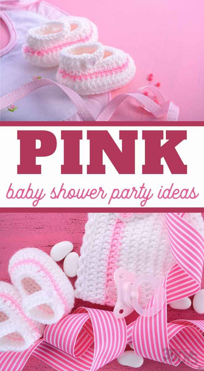 a ton of neat ideas for someone having a pink baby shower