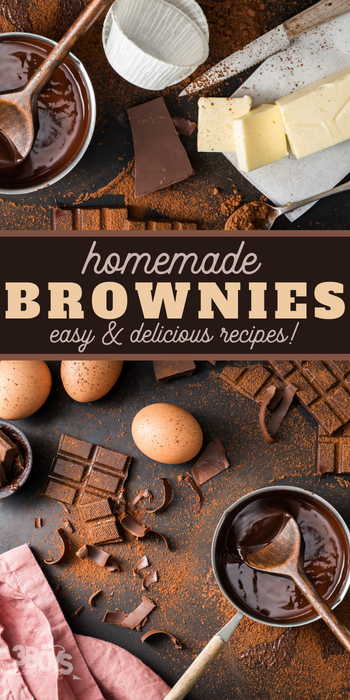 easy homemade brownies recipes