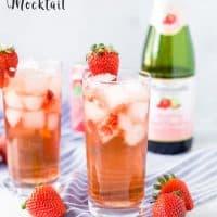 Sparkling Grapefruit Mocktail (Faux Rosé)