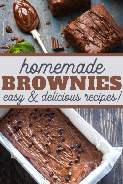 double the recipes of these delicious brownies